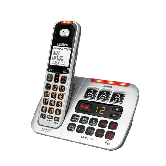 Image of Uniden SSE45 Cordless Phone with 2.5mm Headset Port