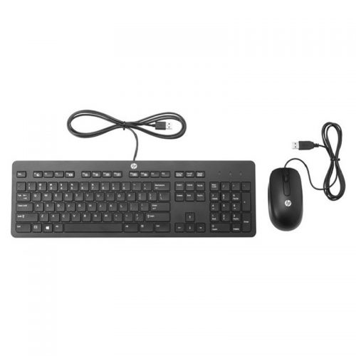 HP T6T83AA Slim USB Keyboard and Mouse