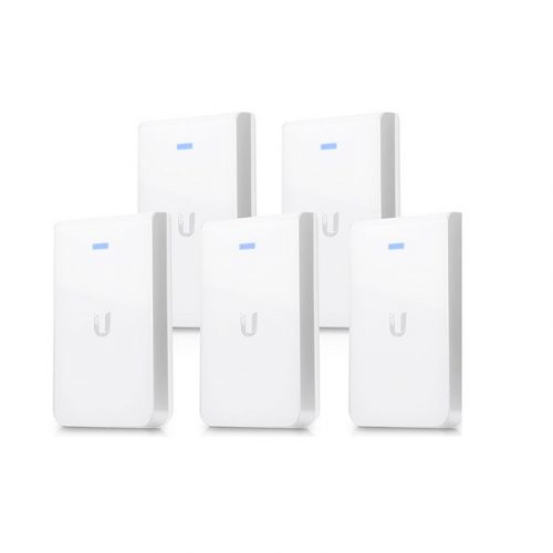 Image of Ubiquiti UniFi AC UAP-AC-IW-5 (In-Wall Access Point) 5 Pack