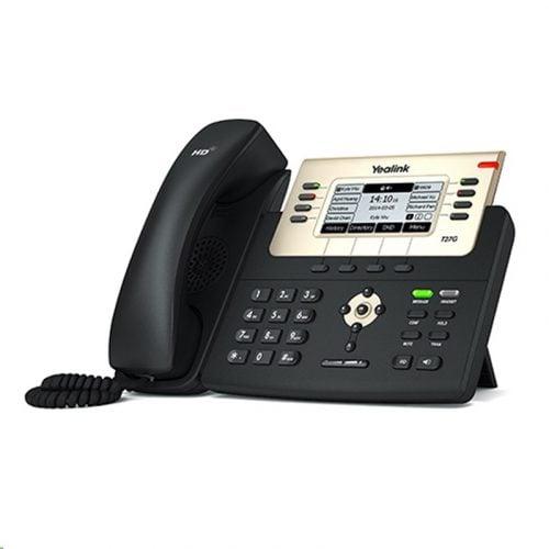 """Yealink SIP-T27G 6 SIP Account 3.7"""" LCD PoE IP Phone"""