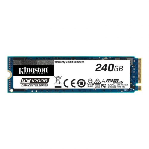 Kingston DC1000B 240GB M.2 2280 NVMe SSD - Gen 3 PCIe Interface