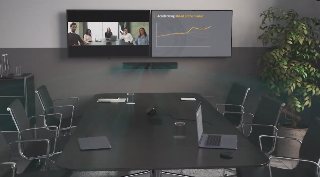 Jabra Panacast 50 Black All-in-One Video Conference Bar