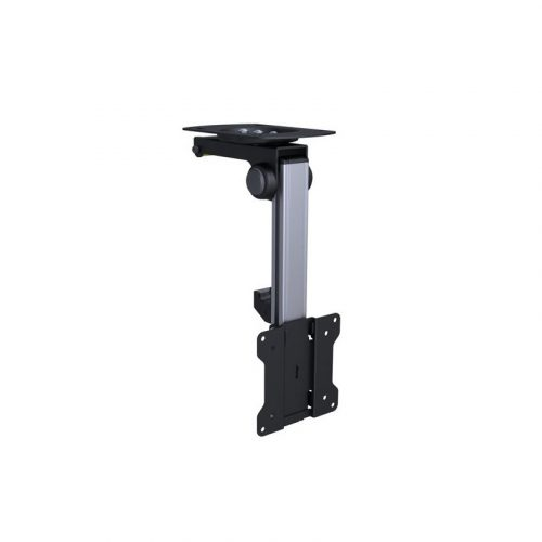"""Brateck LCD-CM211 13""""-27"""" Folding Monitor Mount for Ceiling or Under Cabinet"""