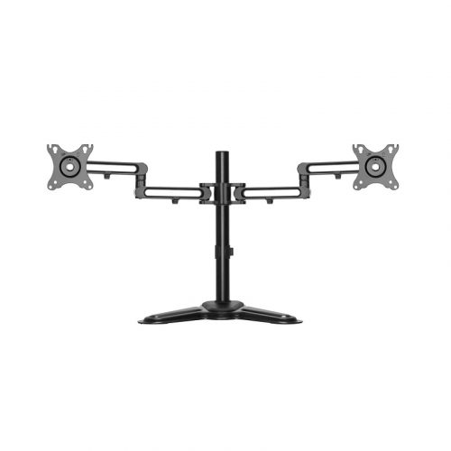 """Brateck Dual Screen Monitor Stand - Supports 17""""-32"""" Articulating (LDT30-T024)"""