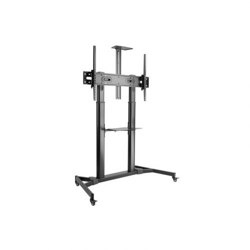 """Brateck TV Cart - Supports 60""""-100"""" Large Screen Height Adjustable (TTL03-610TW)"""