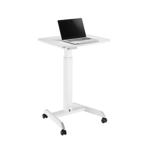 Brateck Mobile Workstation - Height Adjustable with Foot Padel (FWS07-1)
