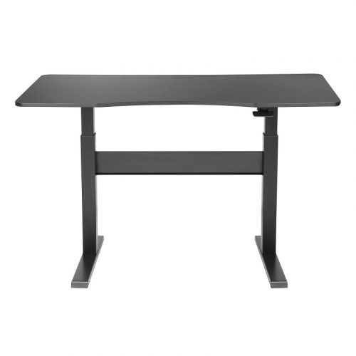 Brateck Sit-Stand Desk - Height Adjustable Air Lift (G03-22D-BL)