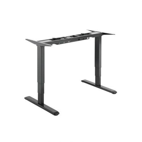 Brateck Black Electric Desk - Sit-Stand Desk Frame with Dual Motors (M06-23RBLK)