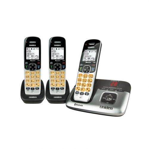 Uniden DECT3236+2 Cordless Phone - 2 Extra Handset