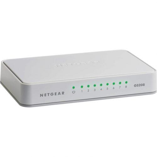 Netgear 8 Port Gigabit Ethernet Unmanaged Switch (GS208)